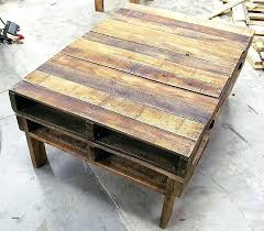 coffee table made from pallets how to make coffee table out of pallets elegant coffee tables