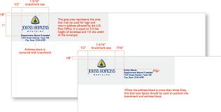 Size Of 10 Envelope Johns Hopkins Medicine 10 Envelopes