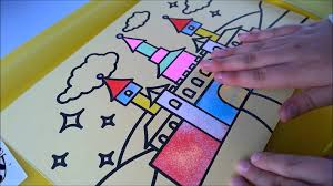 Art For Kids Sand Art For Children Making A Sand Art Picture With Kids Bee