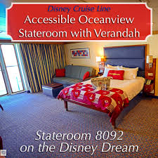 melissa from rolling with the magic disney on wheels has a wonderful review of accessible staterooms and she has provided the images below