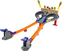 Hot Wheels Super Speed Blastway Dual Track Racing ... - Amazon.com