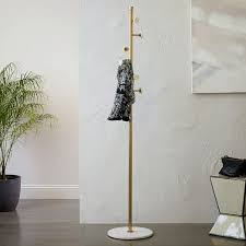 Lamp Coat Rack Combo Deco Marble Coat Rack West Elm 40