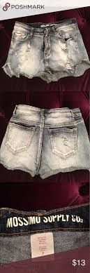 Cut Off Jeans Mossimo Supply Co Cut Offs Size 7 Fit As A
