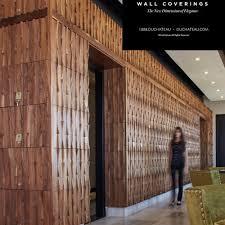 Duchateau Hardwood Wall Covering