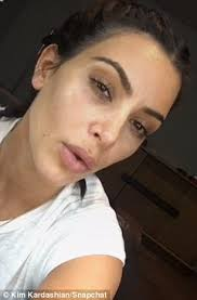 then and now kim kardashian gave a tutorial on monday she is seen on