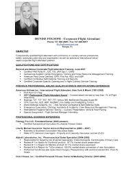 Resume Format For Flight Attendant Flight Attendant Resume