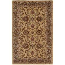 this review is from india house gold 2 ft 6 in x 4 ft accent rug