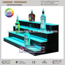 Bar Bottle Display Stand led light bottle holder bar shelf bar liquor bottle stand led 10