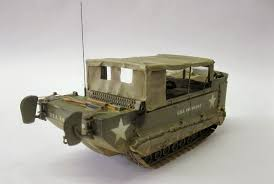 panzerserra bunker military scale models in 1 35 scale m29c studebaker m29c amphibious carrier weasel rear view