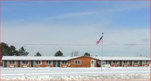 Northern Lights Motel Winter Northern Lights Motel Travel Wisconsin