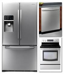 Bundle Appliance Deals Kitchen Cheap Stainless Steel Appliance Packages 4 Piece