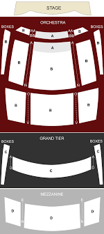 Knight Theatre Charlotte Nc Seating Chart Stage