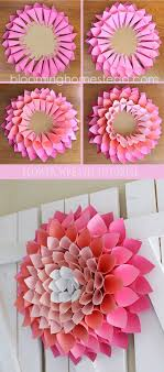 How To Make A Beautiful Flower With Paper Make Beautiful Flower With Papers D Origami Art Pinterest Diy