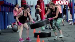 burn boxing and fitness mercial