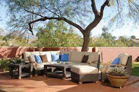 can you use wicker furniture outside
