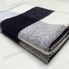buffalo check rug 100 cotton rugs black white checd plaid rug for porch