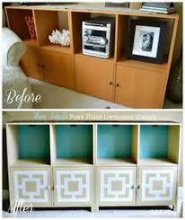 laminate furniture makeover. DIY Furniture : Ikea Hack: Paint Those Laminated Shelves Laminate Makeover