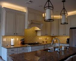 over the cabinet lighting. inspiration for a timeless kitchen remodel in phoenix over the cabinet lighting