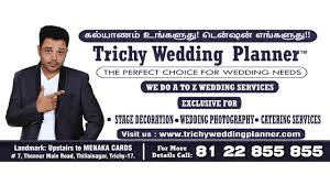 trichy wedding planner ad