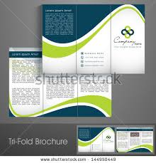 Sample Brochures For Businesses Professional Business Three Fold ...