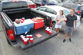 Pickup Truck Drinking Games : game of beer pong