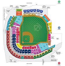 Citi Field Seating Chart Row Numbers Mlb Ballpark Seating Charts Ballparks Of Baseball