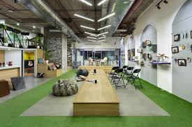 Unconventional Office Design Mumbai This Fintech Companys Office Is A Happy Space For