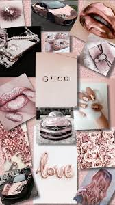 Gucci Rose Gold Aesthetic Wallpapers on ...