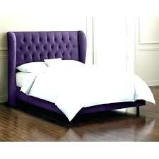 Tufted Bed Frame King Size High Headboard With Upholstered ...