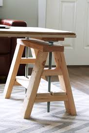 fresh sawhorse desk for home interior design home decorating ideas with sawhorse desk and wood