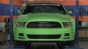 Mustang Modern Billet Black and Polished Retro Grille (2013 GT ...