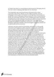 area of study essay belonging area of study belonging essay scribd