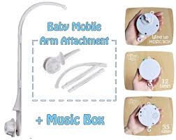 baby mobile arm attachment crib add on diy crib mobile hanging