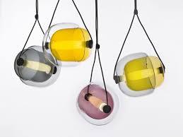 colored glass pendant lighting. lucie koldova for brokis capsula pendant light colored glass lighting c