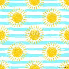 Sun Pattern Awesome Sun Pattern Seamless Striped Background Hand Drawn Yellow Sunshine