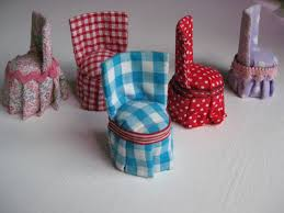 how to make doll furniture. diy chairs dolls house furniture how to make doll