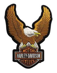 harley davidson decals and patches for jackets vests and cars