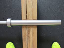 american barbell stainless steel olympic bearing bar chrome sleeves