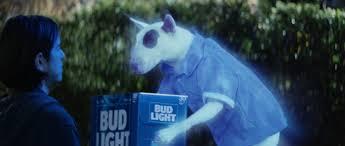 Bud Light Dog Driving Commercial Ghost Spuds Haunts W Ks Super Bowl Spot For Bud Light