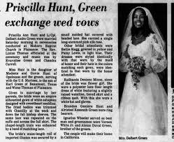 wedding Priscilla Hunt - Newspapers.com