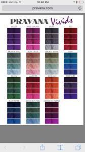Shades Of Purple Hair Dye Chart Pravana Vivids Color Chart 10 30 In 2019 Pravana Hair