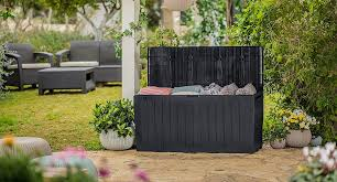 keter our guide to garden storage for