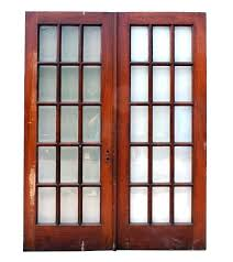 fabulous pair of salvaged french doors oak with beveled glass with beveled glass doors prepare beveled