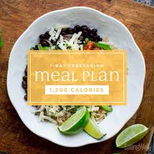 this vegetarian weight loss meal plan makes it easy to eat your veggies and lose weight