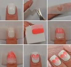 How To Do Nail Designs At Home How To Do Ombre Nail Art At Home ...