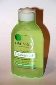 review garnier clean fresh eye make up remover