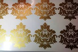 image of gold wall decals target