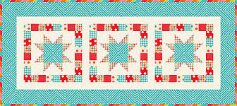 Free Table Runner Patterns Cool Free Quilt Patterns Geo Stars Tablerunner Pattern It's Sew Emma