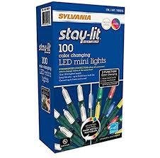 Sylvania Christmas Lights 3 Function Color Changing Details About Sylvania Christmas Lights 3 Function Color Changing Led Mini Lights 100 Count