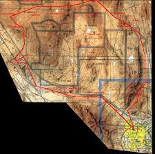 A Grand Aerial Circumnavigation Of Area 51 March 10 1996